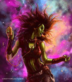 Gamora - Hooked on a Feeling by ChristyTortland on DeviantArt