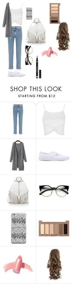 """""""Untitled #18"""" by explorer-145837088710 on Polyvore featuring Acne Studios, Topshop, Vans, Rebecca Minkoff, Urban Decay and Elizabeth Arden"""
