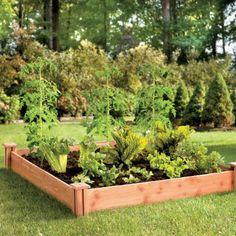 Cedar Raised Garden Bed-4' x 4'