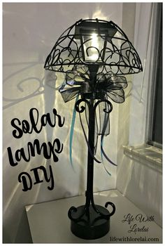 solar lamp diy light your outdoor living space
