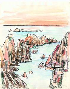 lawrence halprin | Sunset at Sea Ranch, 1977, by Lawrence Halprin. Image courtesy The ...
