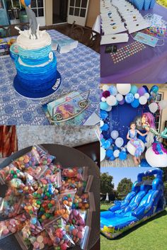 Mermaid Birthday Party Mermaid Birthday, Event Management, Activities, Table Decorations, Party, Gifts, Presents, Parties, Favors