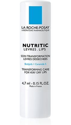 NUTRITIC LIPS TRANSFORMING CARE FOR VERY DRY LIPS.