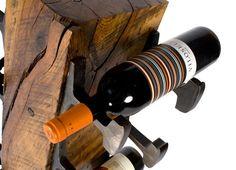 Wine Storage From Antique Railroad Supplies