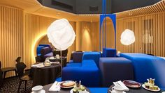 hotel ministère paris - Google meklēšana Chateau Hotel, Lounge, Ceiling Lights, Table Decorations, Interior, Furniture, Home Decor, Bar, Rock