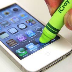 iCrayon Touch Stylus for Mobile Devices - Green: Image 01