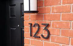Customer Photos – Modern House Numbers