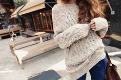 looove this sweater on a blustery fall day!!!
