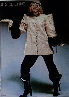 Saint Laurent rive Gauche -Opium 1977 collection chinoise