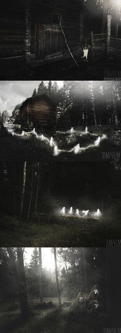 #norse #faerie #folk #woodland #creatures #magical