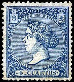 REINADO DE ISABEL II - AÑO 1866. Isabel II.