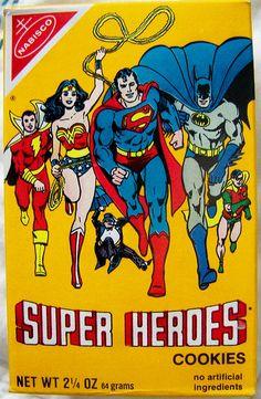 Super Heroes Cookies (1982)