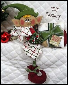 Elf Me, The Elf, Christmas Elf Doll, Christmas Presents, Christmas Ornaments, Halloween Doll, Primitive, Selling On Ebay, Cool Patterns