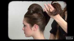 Le chignon d'Audrey Hepburn - ELLE Coiffure n°02