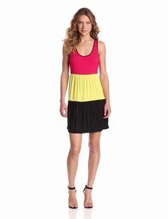Amazon.com: Kensie Women's Color Block Dress: Clothing