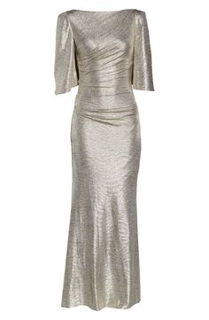 Eliza J Capelet Sleeve Ruched Evening Gown Office Dresses, Dresses For Work, Evening Gowns Online, Capelet, Old Hollywood, Elegant Dresses, Boho Dress, Dresses Online, Nordstrom