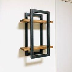Home Decor Shelves, Diy Home Decor, Shelving, Bookends, Furniture Design, Decoration, Steel, Wood, Projects