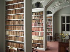 Wimpole Hall - the ante-library - Soane