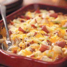 Twice-Baked Potato Cassarole Recipe  Click Here for Recipe:http://couponshopaholic.net/?p=15959