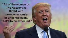 Donald Trump Discusses The Apprentice.....Yes he is this delusional