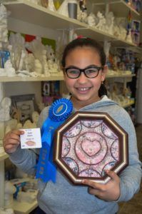 Sanibel Shell Show in Florida is one of the oldest and the most prestigious and popular art show in the USA. This year two students from Art Fun Studio participated in the juried exhibition and won awards.