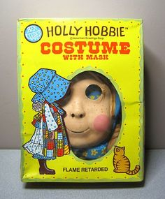 Vintage HOLLY HOBBIE Halloween Mask & COSTUME - Ben Cooper - EXCELLENT in BOX!   eBay