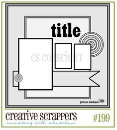 Creative Scrappers: Sketch #199