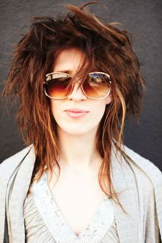 This is what my hair looks like on a good day hahahahaha !!!