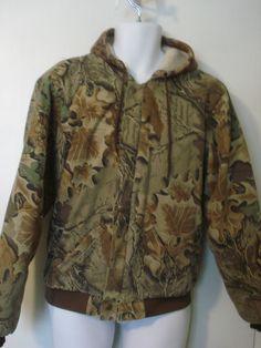 50175cd0c0403 Boys Cabelas Camo Coat Jacket Youth Size XL 18-20 U.S. made #Cabelas Auntie