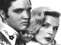 "Elvis and Lizabeth Scott - ""Loving You"" photo - 'The Elvis Files. Vol.2' - EIN in-depth review"