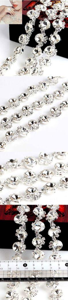 #claw chain rhinestone #bohemian weddings   #chain rhinestone  #trim Wedding Dress  #ribbon Diamond   #Wedding Applique #rhinestone trim  #wrap diamond  #diamond mesh ribbon   #Shoes Silver Chain  #chain crystal clear   #sew on rhinestone  #Dress Trim  #flat back rhinestone