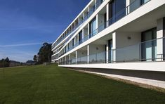 Elderly Residential Building, Santo Tirso, Portugal / Atelier d'Arquitectura J. A. Lopes da Costa © Manuel Aguiar
