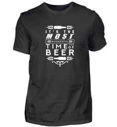 It´s The Time Of The Beer. Bier T-Shirt