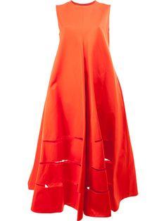Купить Maison Rabih Kayrouz объемное платье шифт с вырезными деталями.