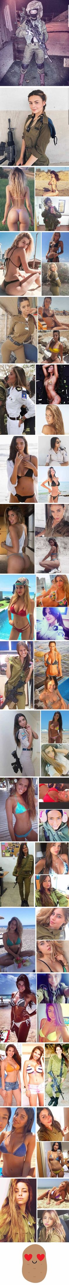 These Israel soldier babes could kill you at first sight