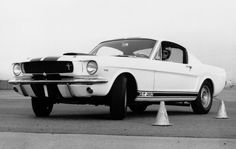 Caroll Shelby's Ford Mustang GT 350 was the car to beat in 1965.