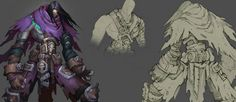 Artes do game Darksiders II, por Avery Coleman