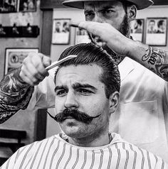 Tattoo Tuesday: Figaros Barbershop Lisboa.