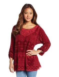 25% Off was $208.00, now is $156.00! Johnny Was Women's Lacy Tunic