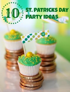 10 Fresh Party Ideas for St. Patrick's Day - Craftfoxes