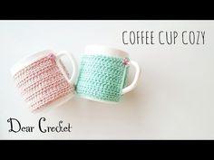 코바늘 커피 컵 커버 (Crochet coffee mug cup Cozy)