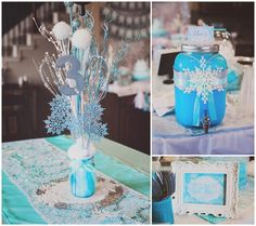 Frozen themed birthday party via Kara's Party Ideas KarasPartyIdeas.com The Place for All Things Party! #frozen #frozenparty #frozenpartyideas (8)