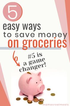 Need to cut your grocery bill but aren't sure where to start? These simple tips will get you started on saving money in the grocery store!
