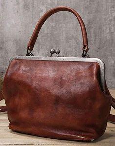 Genuine Leather Handbag Vintage Saddle Bag Shoulder Bag Crossbody Bag Purse For Women : Genuine Handmade Bag Vintage Leather Handbag Shoulder Bag Crossbody Bag Women Leather Purse Handmade Handbags, Vintage Handbags, Handmade Bags, Handmade Leather, Vintage Purses, Vintage Bags, Leather Purses, Leather Handbags, Shopper Bag