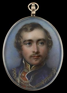 William Essex (1784-1869) - - - George, later Duke of Cambridge (1819-1904), wearing the collar and mantle of the Order of the Garter , after George Richmond (1809-1896)