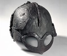 the only (known) helmet that remains from the Viking age