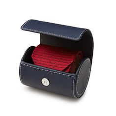 This smart and stylish cylinder stows neckties in a spiffy, space-efficient package. This smart and stylish cylinder stows neckties in a spiffy, space-efficient package. Romantic Gifts For Him, Unique Gifts For Men, Unusual Gifts, Gifts For Your Boyfriend, Gifts For Husband, Boyfriend Surprises, Ideal Boyfriend, Top 5 Christmas Gifts, Elegant Christmas