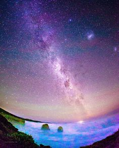 can't believe how beautiful this place is #12apostel #12apostles #australia #greatoceanroad #milkyway #stars #ocean by matthiasfriel http://ift.tt/1ijk11S