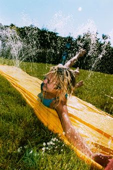 slip-n-slide - has one of these EVER been used without a serious injury occuring? lol, i've never seen it happen