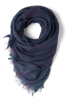 Morning Jams Scarf - Sheer, Blue, Purple